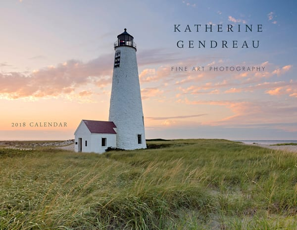 2018 Seascapes Wall Calendar - Beach Calendar, Nantucket, Cape Cod, Rhode Island Photography Calendar