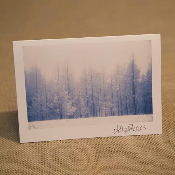 Snowy Malheur Notecard