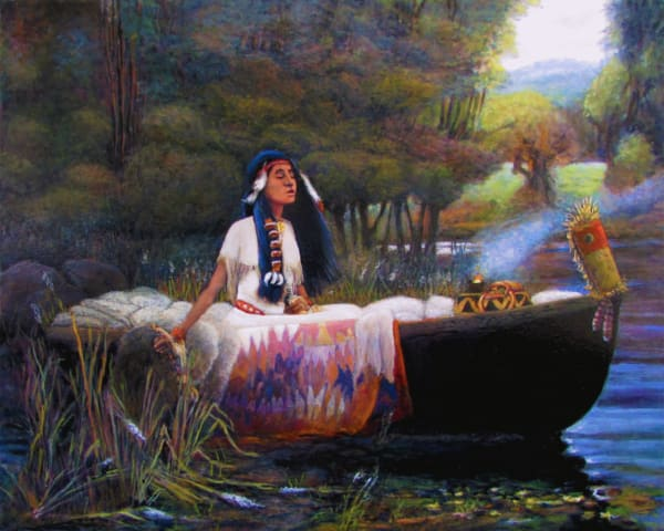 Lakota Maiden Art | Charles Wallis