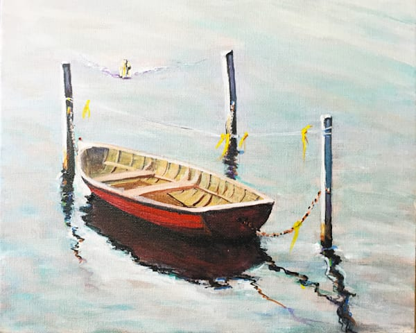 Row Boat #30 Art | Charles Wallis