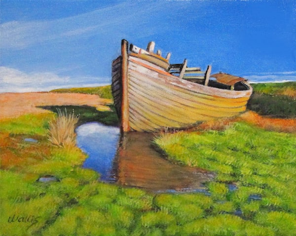 Row Boat #27 Art | Charles Wallis