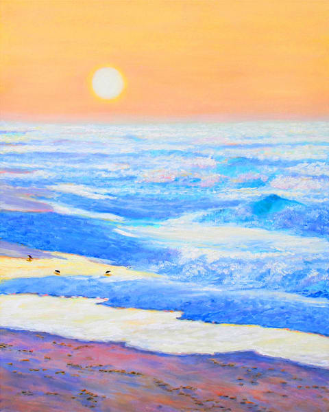 Coastal Dawn Art | Charles Wallis
