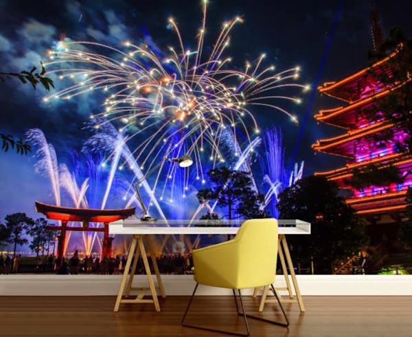 Epcot Illuminations 1 - Disney Wall Murals   William Drew