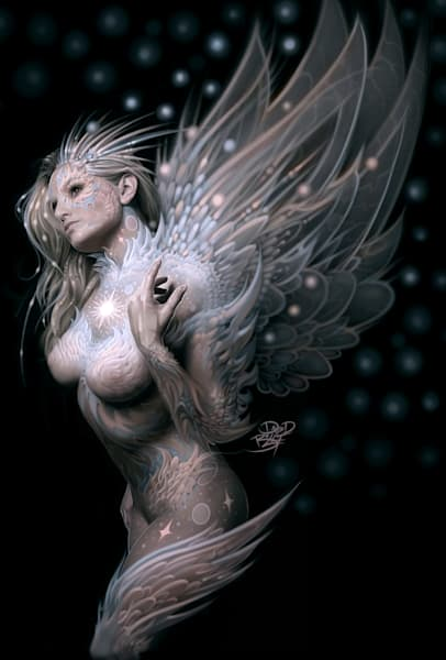 angels Nude fantasy art