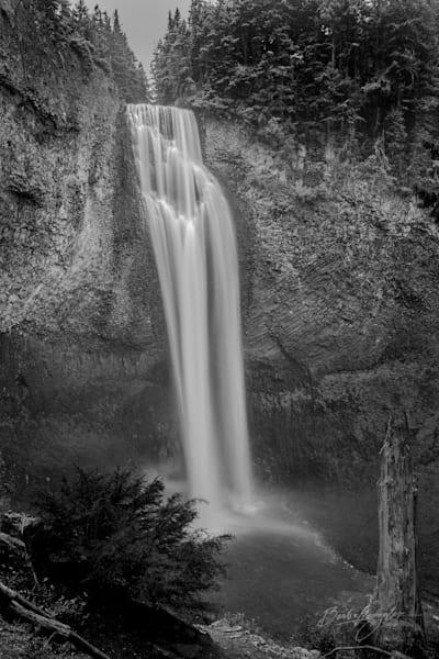 salt creek falls BW