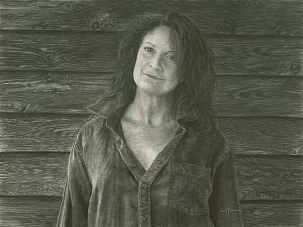 Portrait of a Country Woman - Original