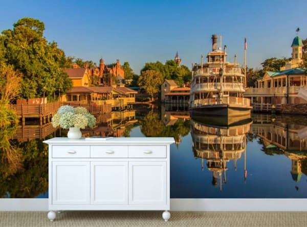Disney World Wall Mural - Liberty Belle Reflection