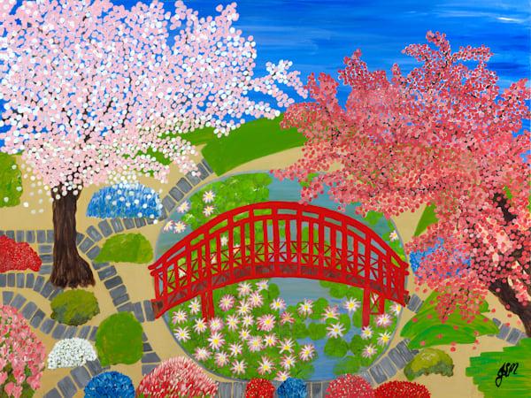 Serenity Garden - Original
