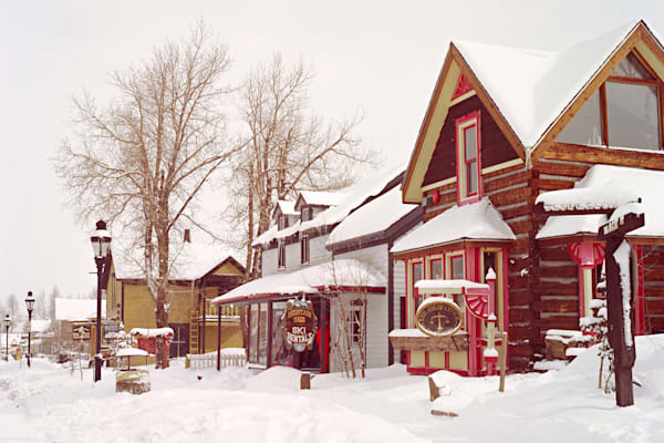 Fine Art photograph of the Assay Office jewelry store in Breckenridge,Colorado around 1980