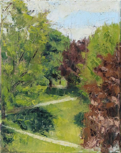 Spring Landscape Oil Painting