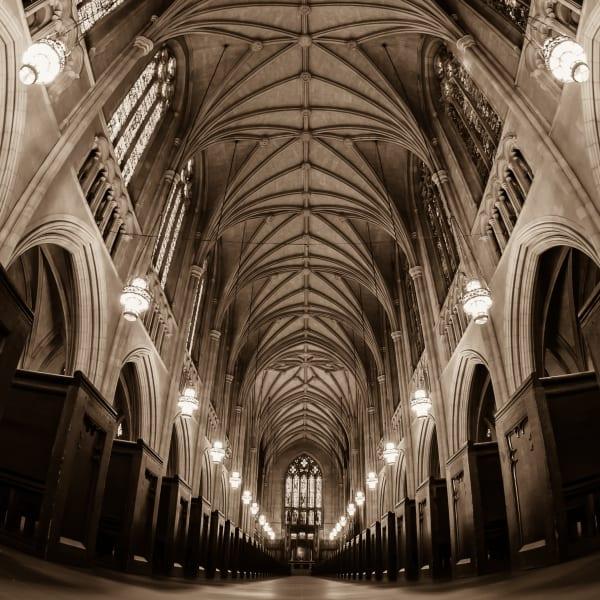 Duke Chapel: A Mouse-Eye View