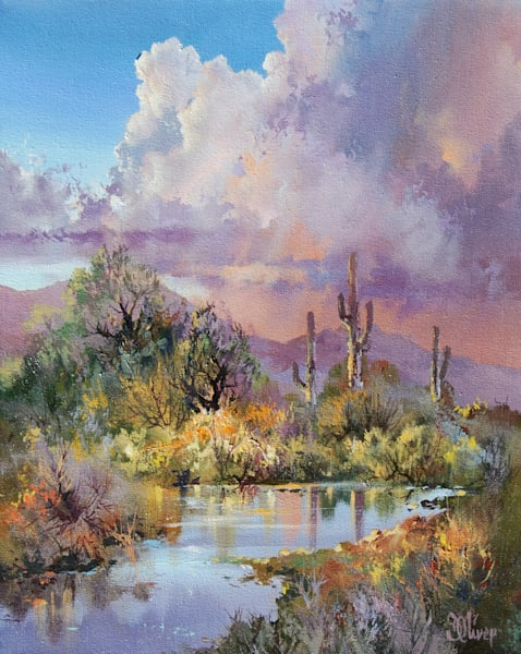 Reflections by Doug Oliver   Southwest Art   Tucson Gallery