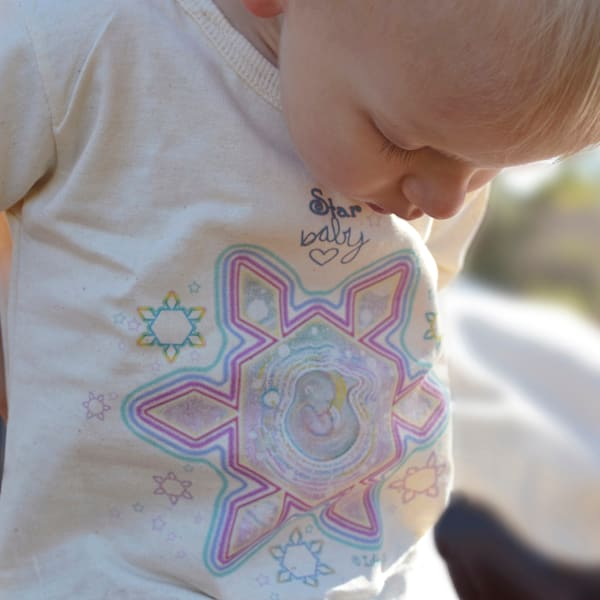 Star Baby - Organic Baby Snappie by Ishka Lha