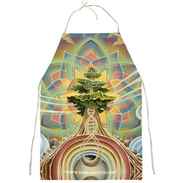 Sequoia Song - Visionary Art Apron by Ishka Lha