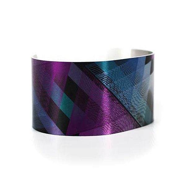 Gradient Vortex Cuff | Caroline Geys Design Studio