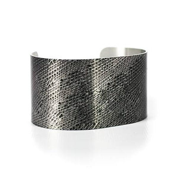 Mottled Vortex Cuff | Caroline Geys Design Studio