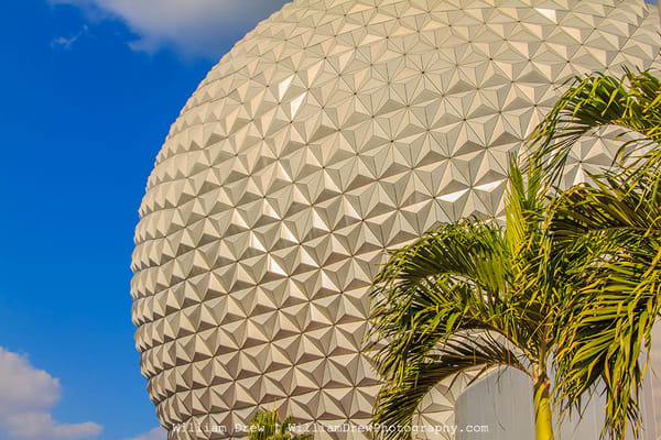 Spaceship Earth - Disney Wall Murals | William Drew