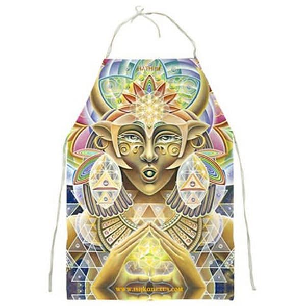 Hathor - Visionary Art Apron by Ishka Lha