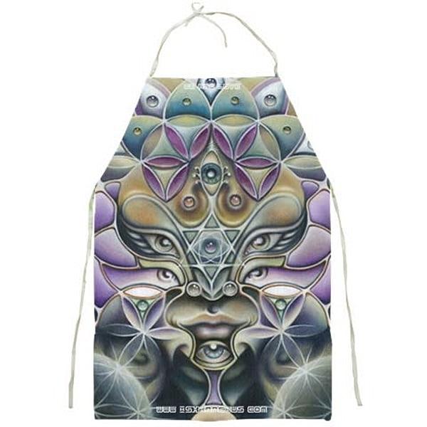 Avatara - Visionary Art Apron by Ishka Lha