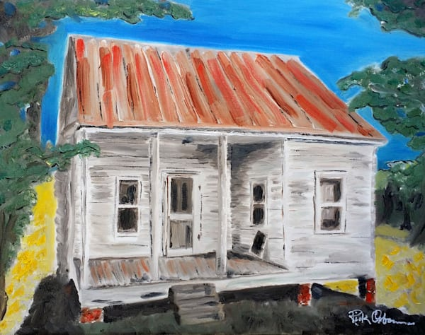 The Shack | Fine Art Print Painting of Old House