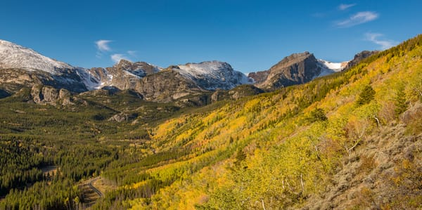Photo of Fall Colors Bierstadt Moraine in Rocky Mountain National Park