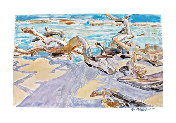 Water, Wind, Light, Shadow 3 | Contemporary Landscapes | Gordon Meggison IV