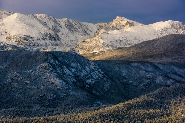 Photo of Early Autumn Snow in Rocky Mountain National Park