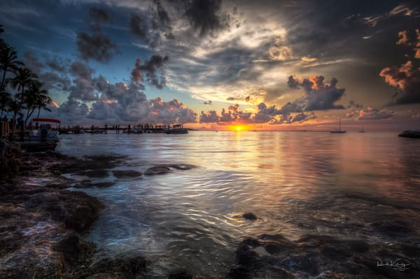 Key Largo Liquid Gold Photographic Art