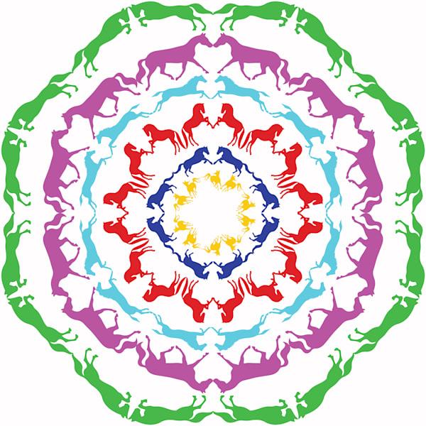 Horse Mandala (2)