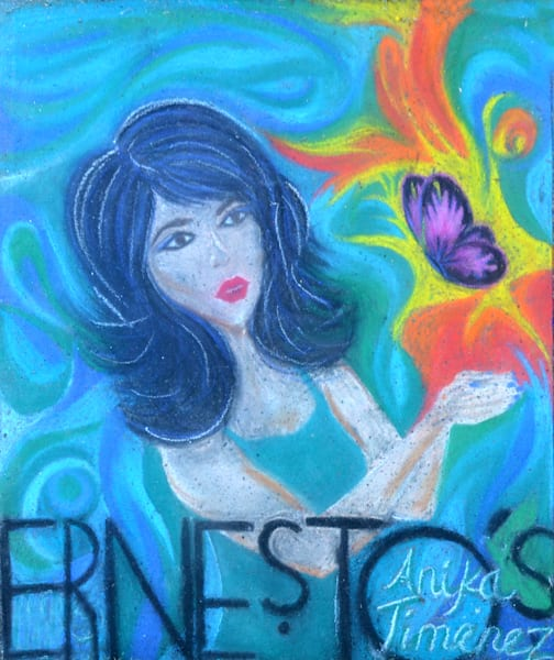 Girl and Butterfly- Ernesto s