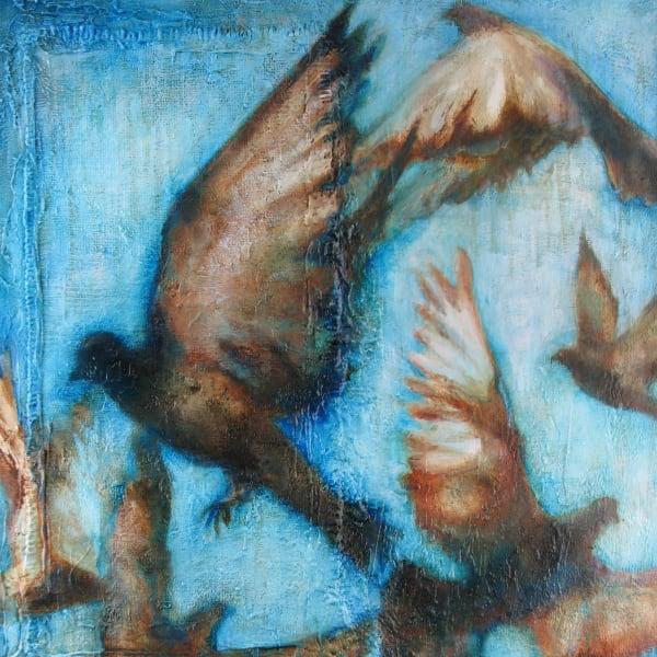 Blue Pigeons