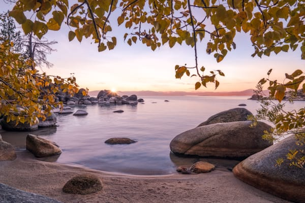'Secret Coves & Autumn Leaves' Photograph by Jess Santos for sale as Fine Art