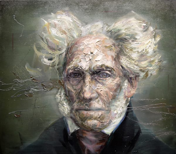 Arthur Schopenhauer par Mathieu Laca