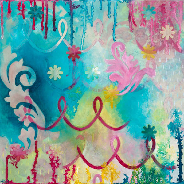 Darling, an original art painting by Heather Robinson