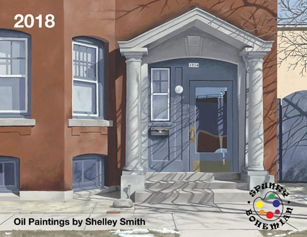 2018 Art Calendar | Original Oil Paintings | Nostalgic Americana