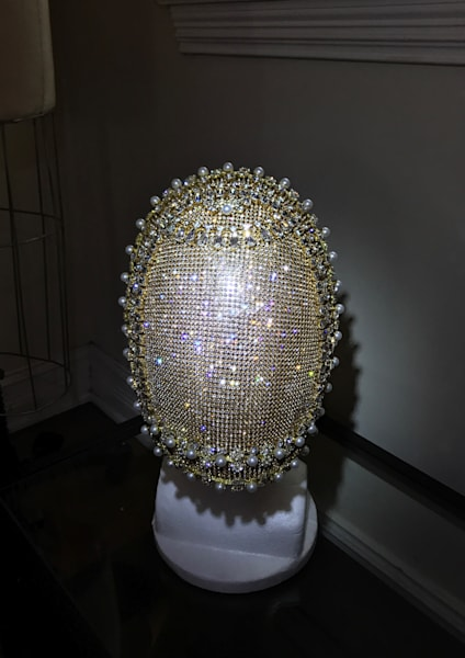 Handmade Crystal Mask