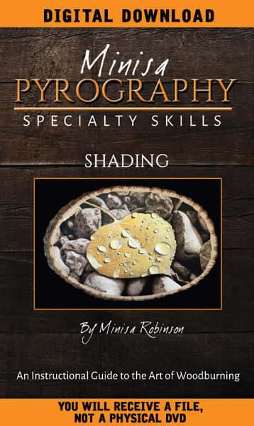 DIGITAL DOWNLOAD: Pyrography Shading DVD
