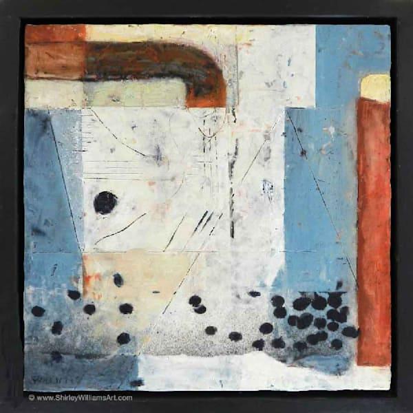 Original Encaustic Painting - Beneath the Surface-1