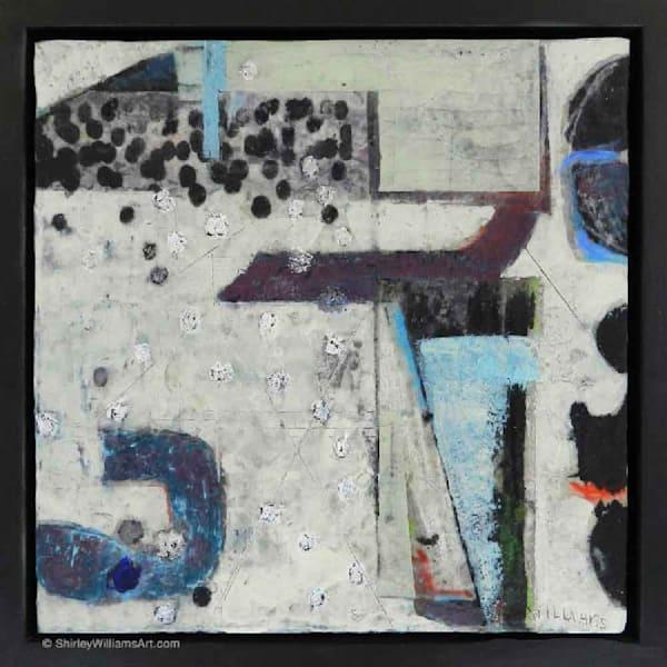 Original Encaustic Painting - Beneath the Surface-3