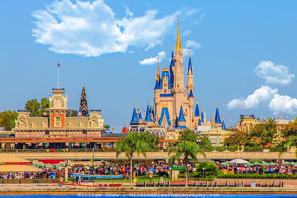 Magic Kingdom - Disney Wall Murals | William Drew