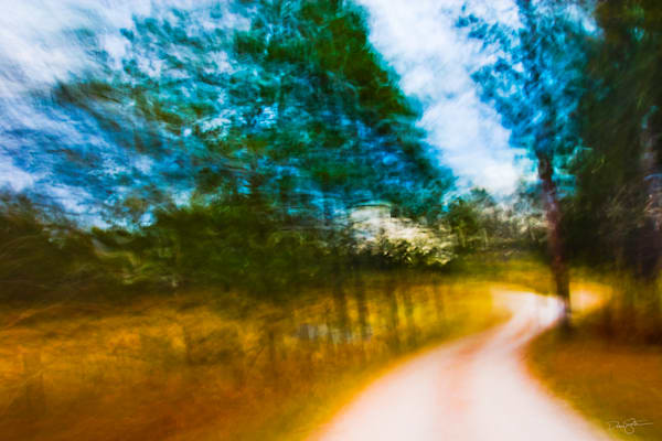 Wildlife Drive - Seney National Wildlife Refuge.    A series of camera movements during a single 2-second exposure created this effect.
