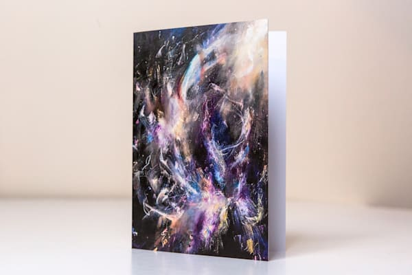 The Outburst - Fine Art Greeting Card