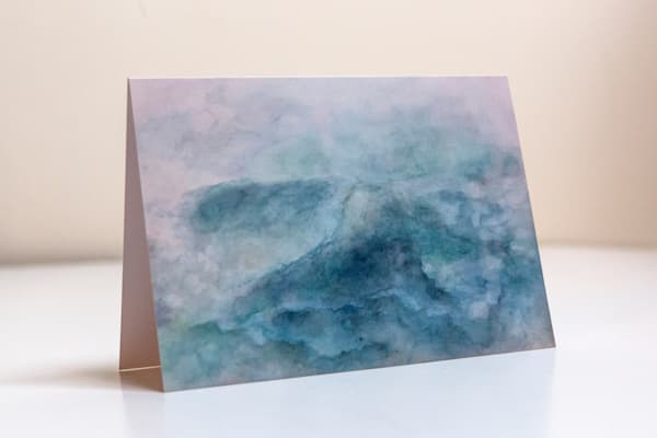 Calm Seas - Fine Art Greeting Card