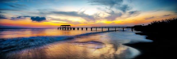 """Waimea Pier Sunset"""