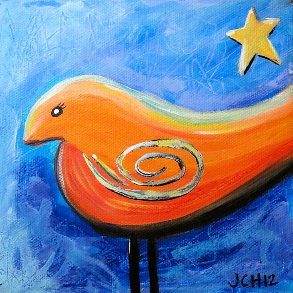 Star Bird Art For Sale