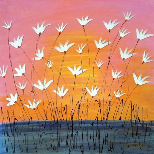 Flowers On The Bayou Art For Sale