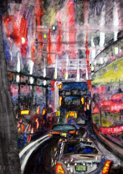 Lincoln Tunnel Reflections Art | David Beale
