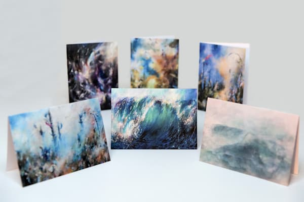 Fine Art Greeting Cards - Set of 6