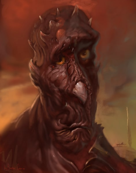 Sad Turkey Monster