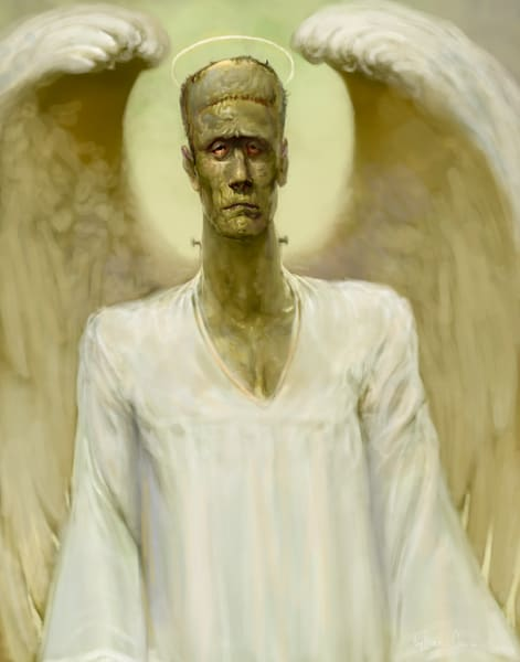 Frankenangel (Color) Art | Burton Gray